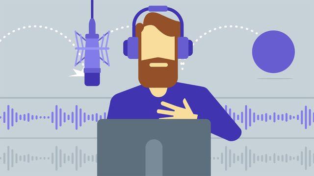 Trabajar como locutor online