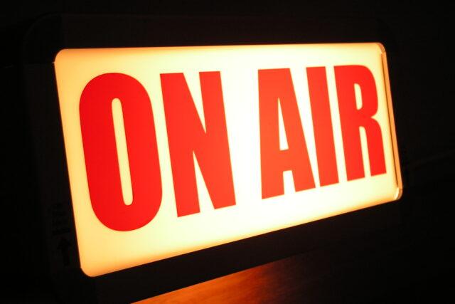 Estás en Antena. On Air Radio. En directo en la Radio.