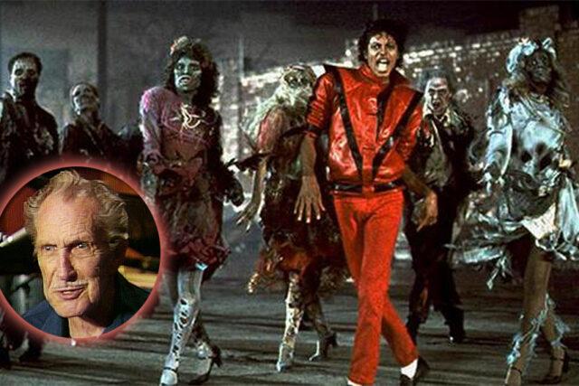 La Voz en Off de Thriller Michael Jackson es Vincent Price. Risa de Thriller.