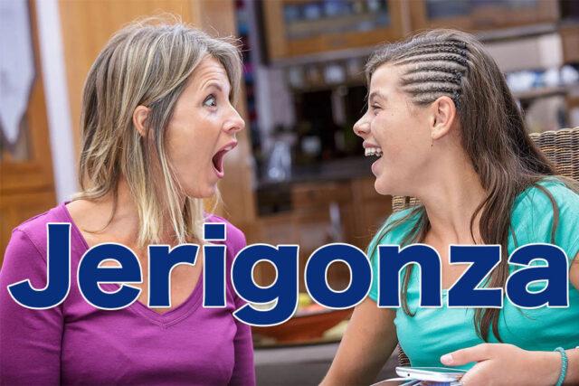 Jerigonza. Origen y ejemplos de jerigonza. La variante lúdica del habla.